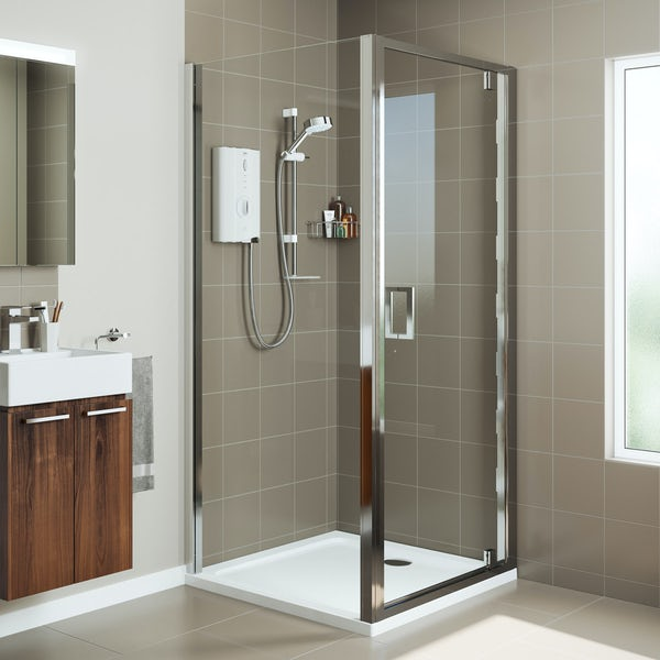 Mira Leap rectangular pivot shower enclosure