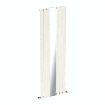 Mode Ellis white vertical radiator with mirror 1840 x 620