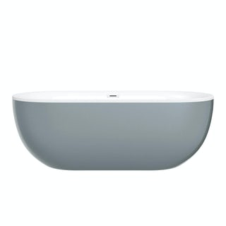 Ellis storm coloured freestanding bath