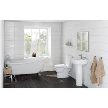 Orchard Deco bathroom suite with Winchester slipper bath