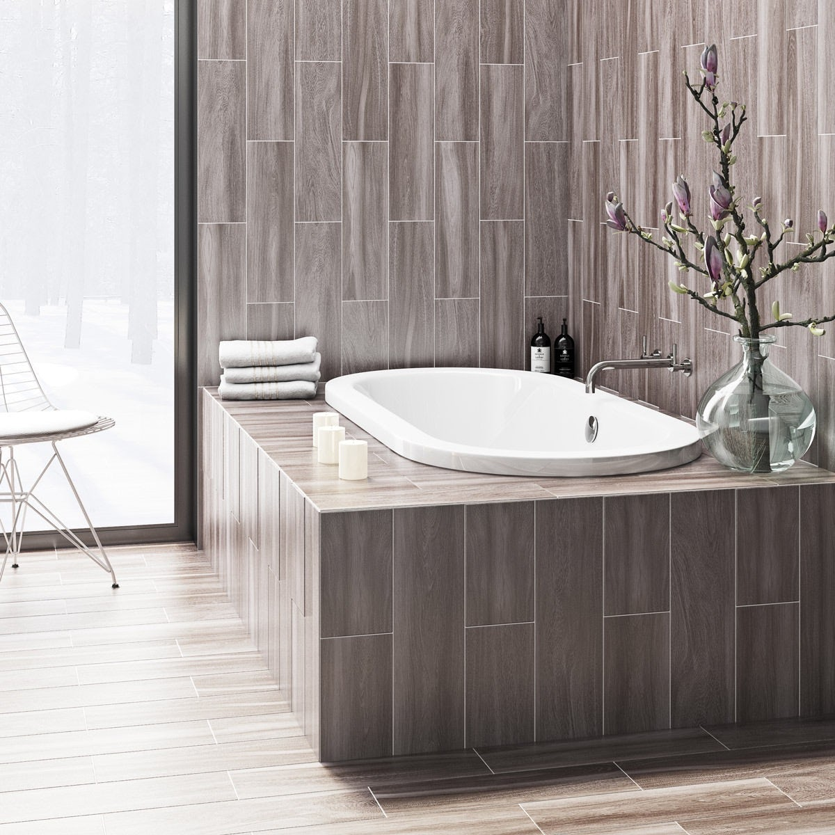 British ceramic tile bark grey wood effect grey matt tile 148mm x british ceramic tile bark grey wood effect grey matt tile 148mm x 498mm dailygadgetfo Images