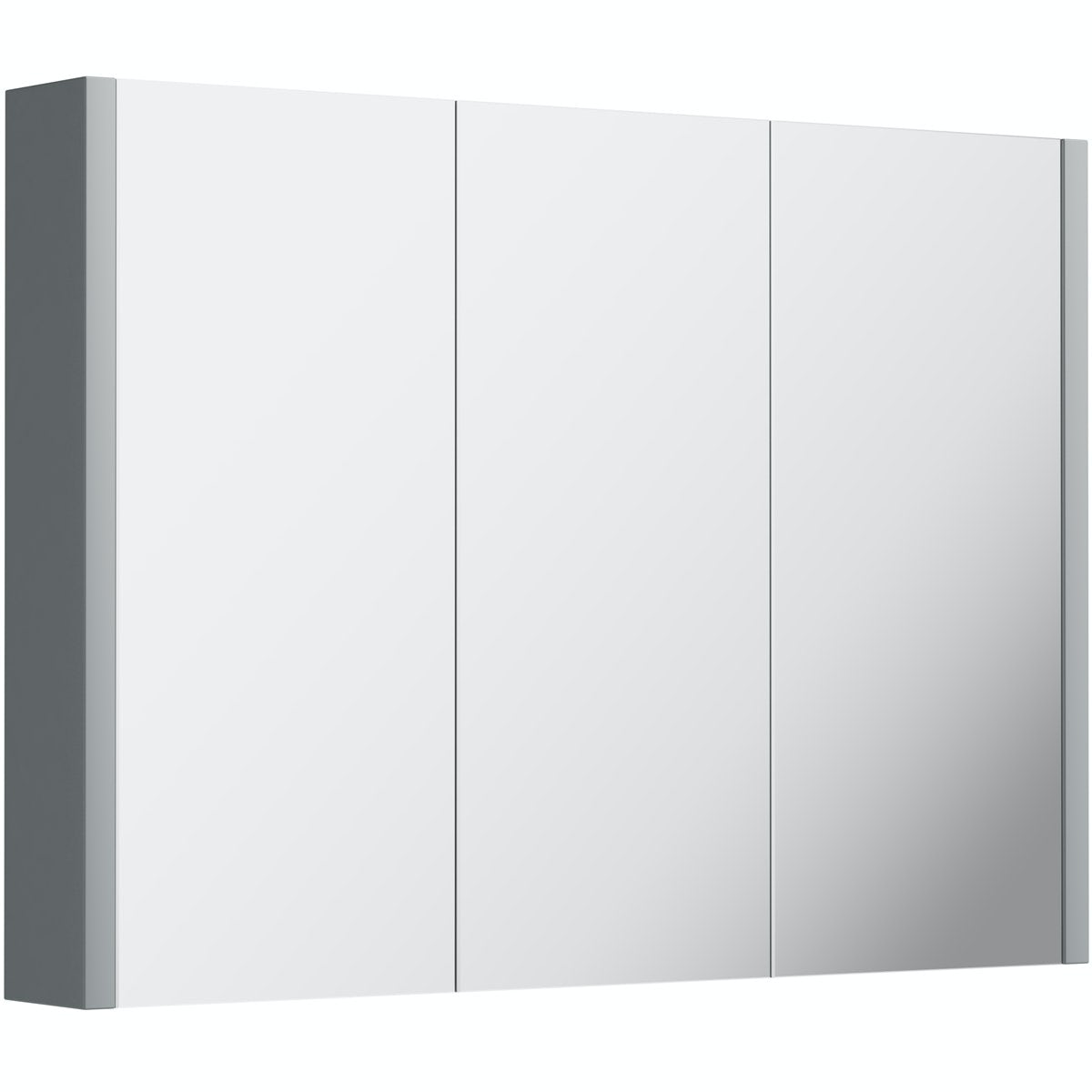 Orchard Derwent grey 3 3oor mirror cabinet 900mm