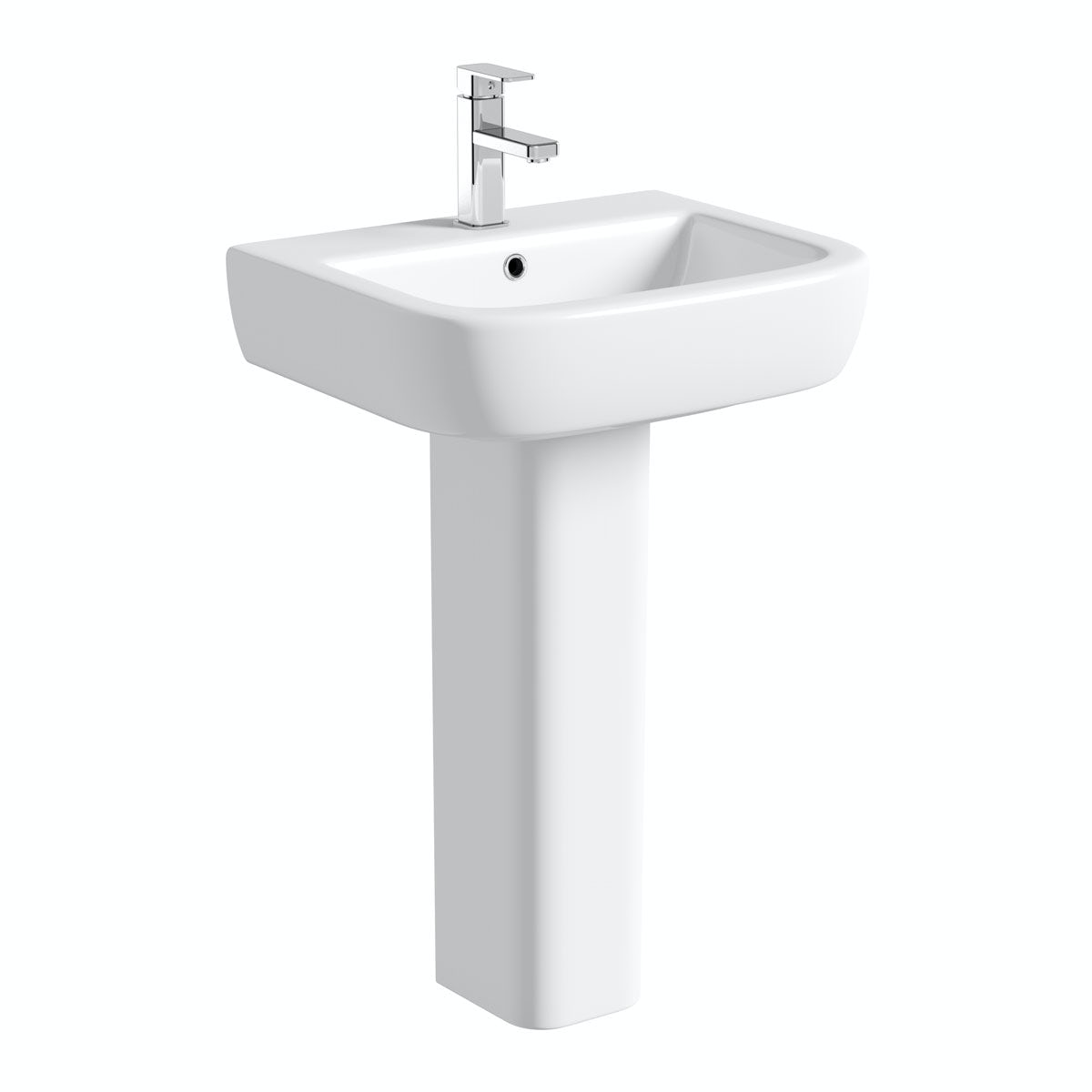 Mode Ellis 1 tap hole full pedestal basin 560mm