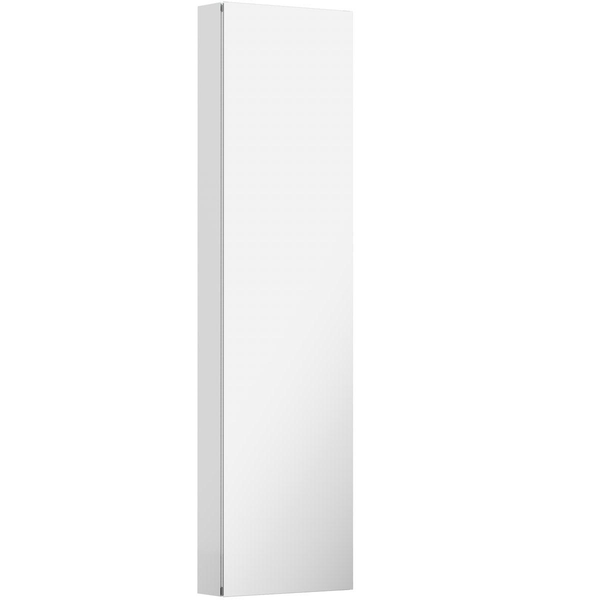 Mode Breuer tall mirror cabinet 1500 x 400