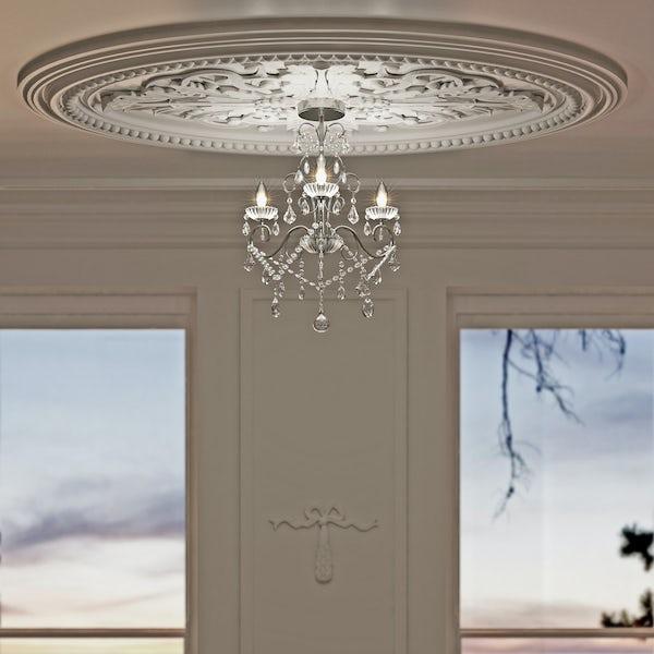 Forum Solen 3 light bathroom chandelier