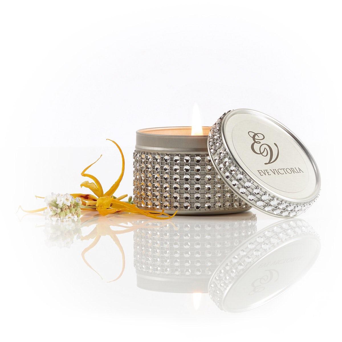 Eve Victoria Ylang ylang & lavender diamante tin