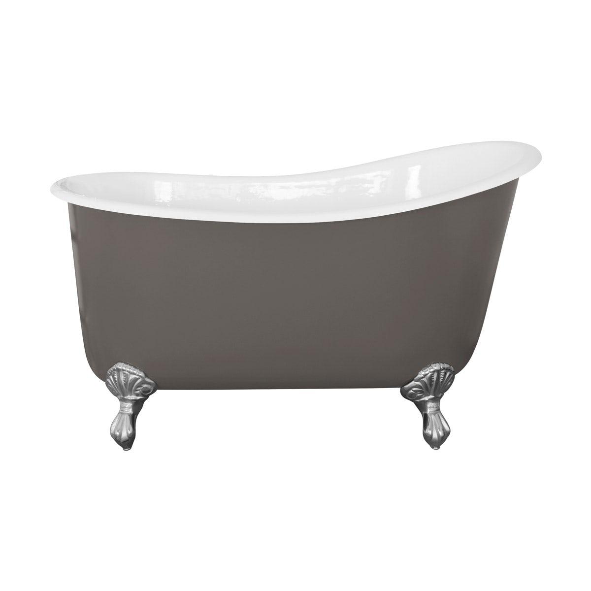 The Bath Co. Berkeley keystone grey cast iron bath