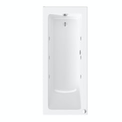 Kensington 1700 x 700 single end 6 jet whirlpool bath
