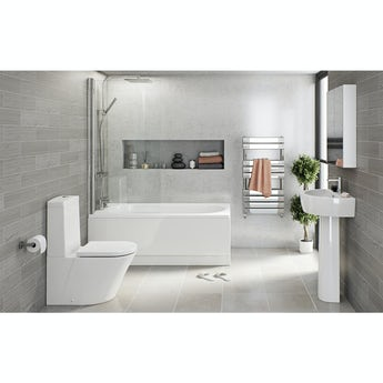 Mode Arte straight bath complete bathroom package