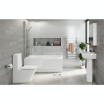 Mode Tate straight bath complete bathroom package