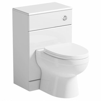 Energy Back To Wall Toilet inc Seat & Unit