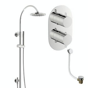 Mode Matrix thermostatic shower valve shower bath set