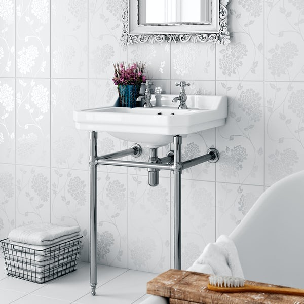 Traditional Washstand with Camberley Basin