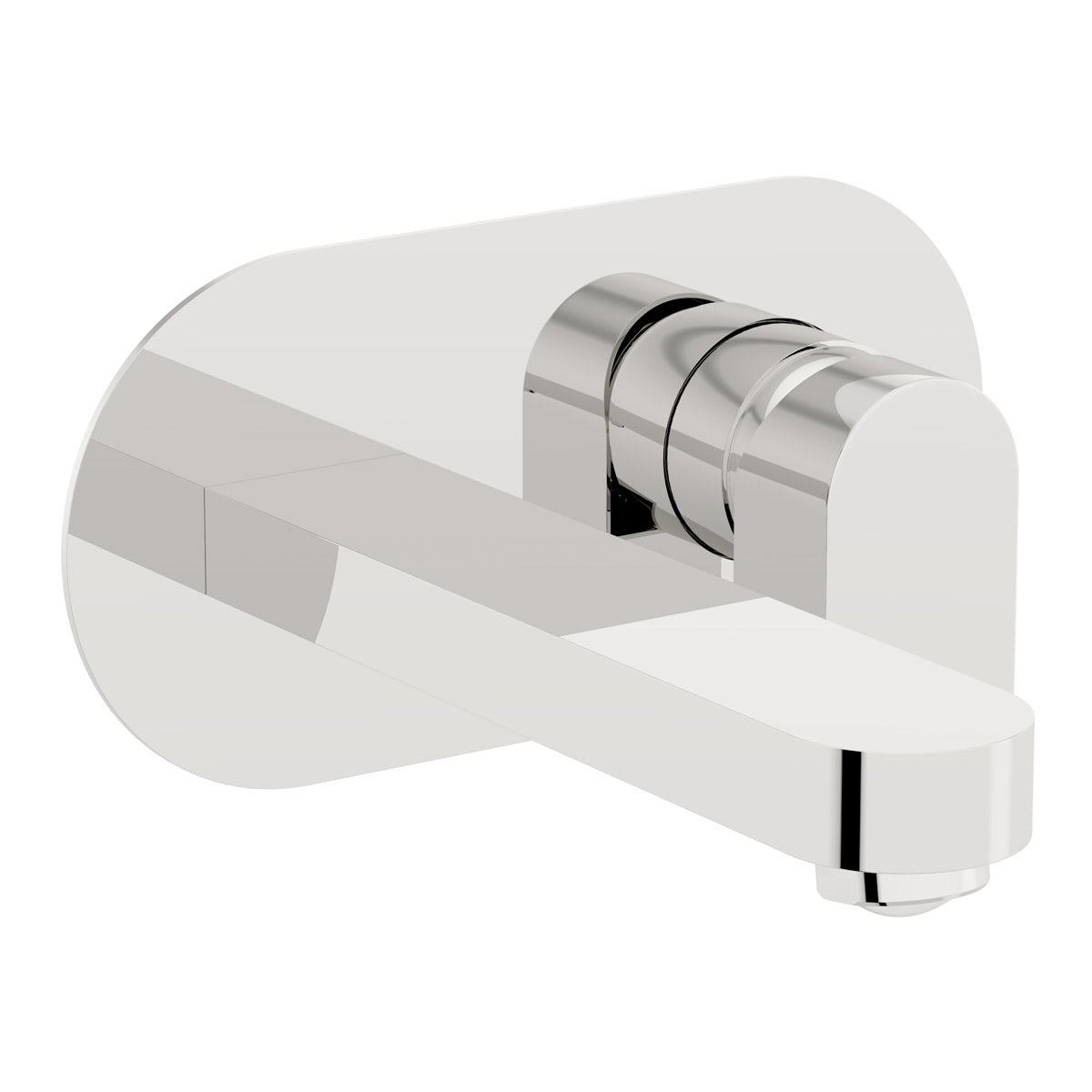 Erith wall mounted bath mixer tap