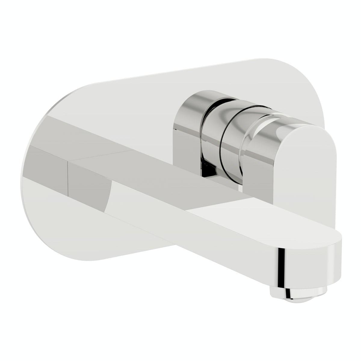 Mode Erith wall mounted bath mixer tap