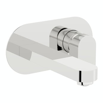 Mode Erith wall mounted bath mixer tap offer pack