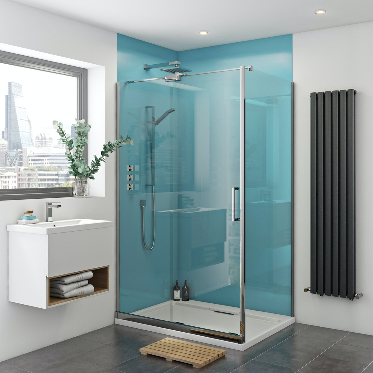 Beautiful Acrylic Shower Walls Panels Images   Bathroom With .