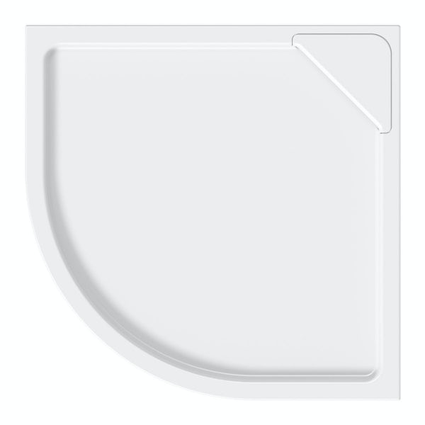 Designer Quadrant Stone Shower Tray