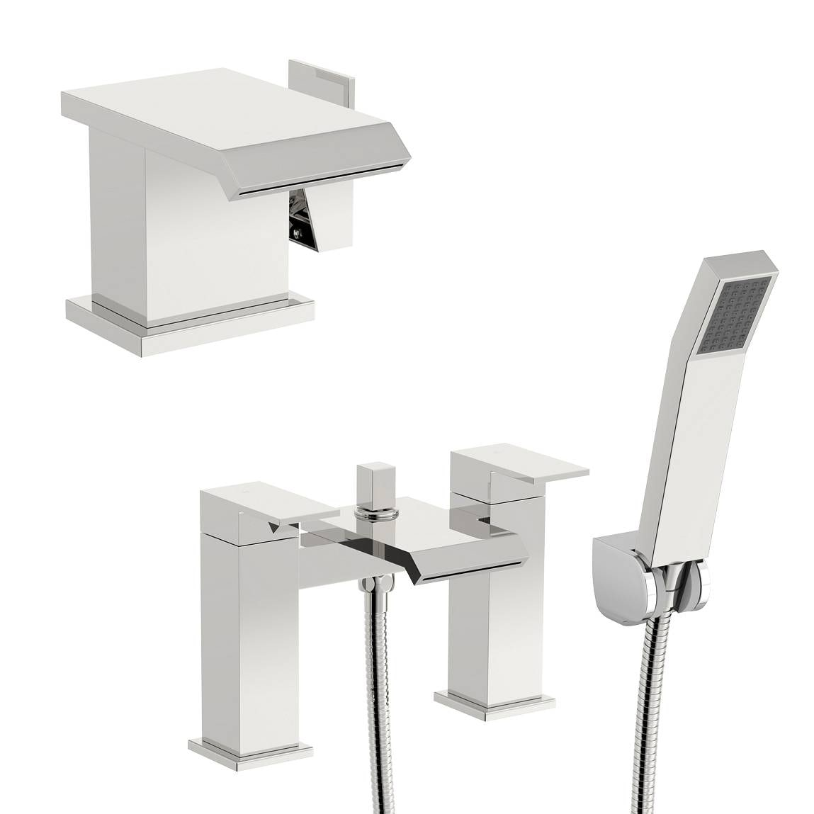 Mode Aurora basin and bath shower mixer pack