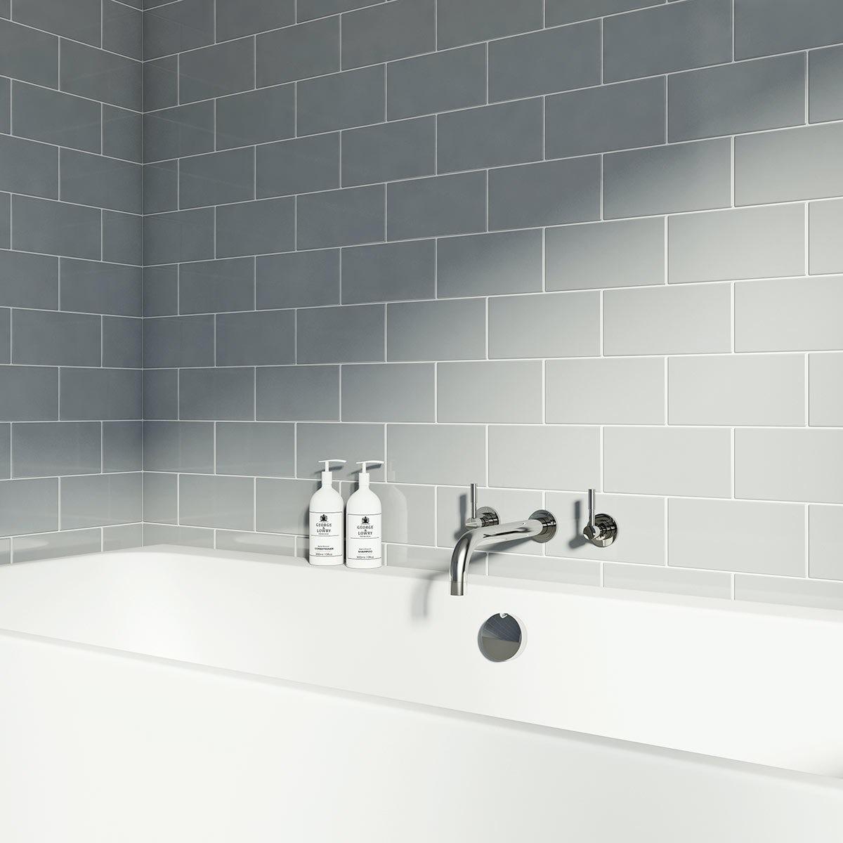 Metro Tile Bathroom. Best Metro Tile Bathroom With Metro Tile ...