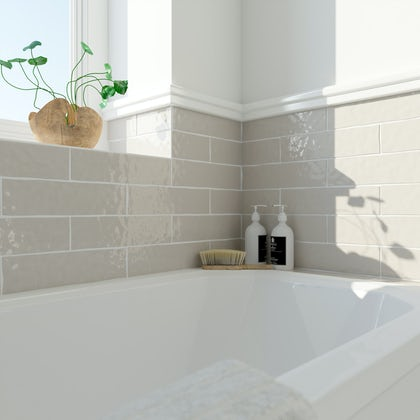 Laura Ashley Artisan cobblestone wall tile 75mm x 300mm