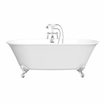 Camberley Roll Top Bath with Ball Feet