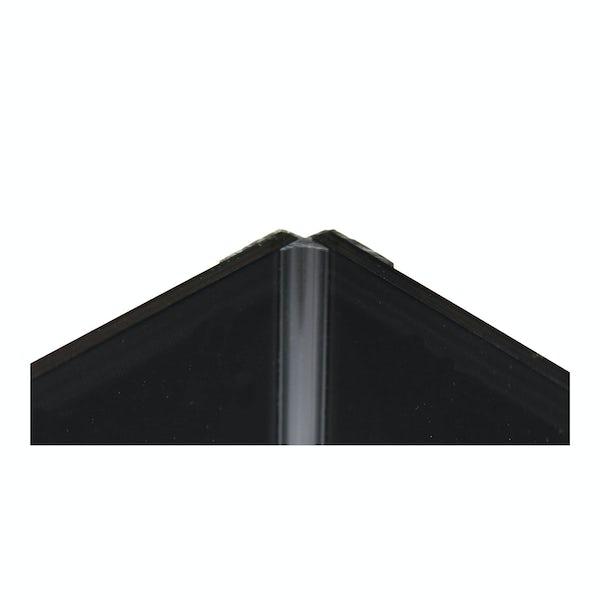 Zenolite plus matt jet colour matched internal corner joint 250mm
