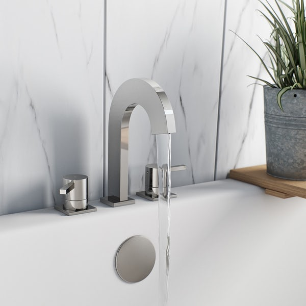 Harrison basin and bath mixer tap pack