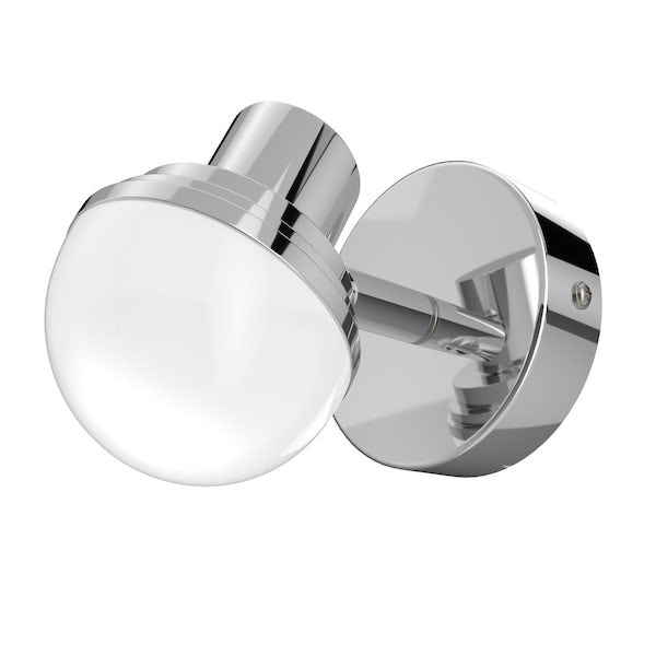 Forum Milan round bathroom wall spot light