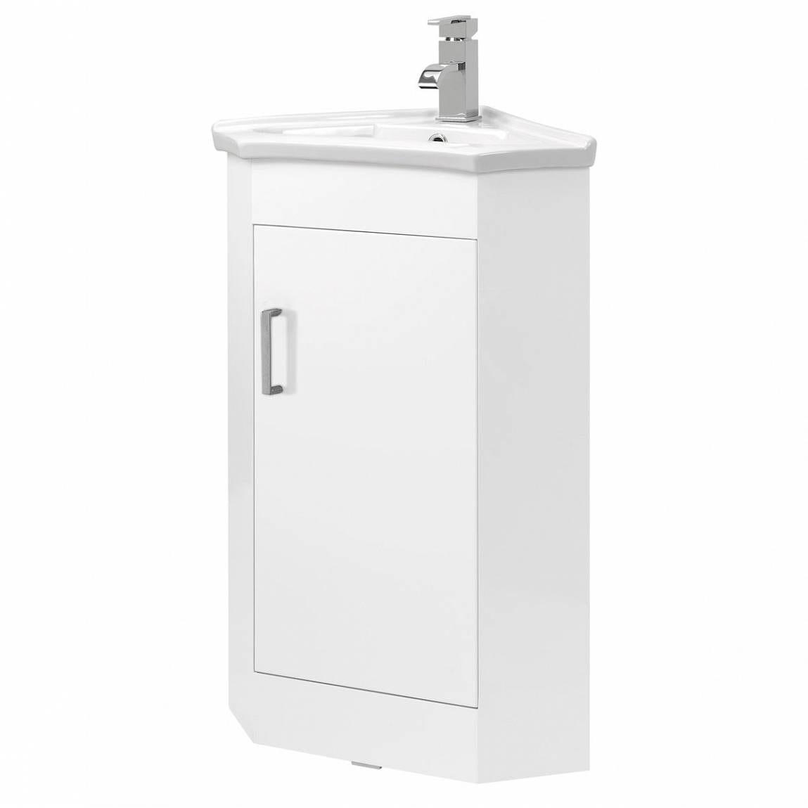 Compact Corner Basin : Compact Corner Unit & Basin