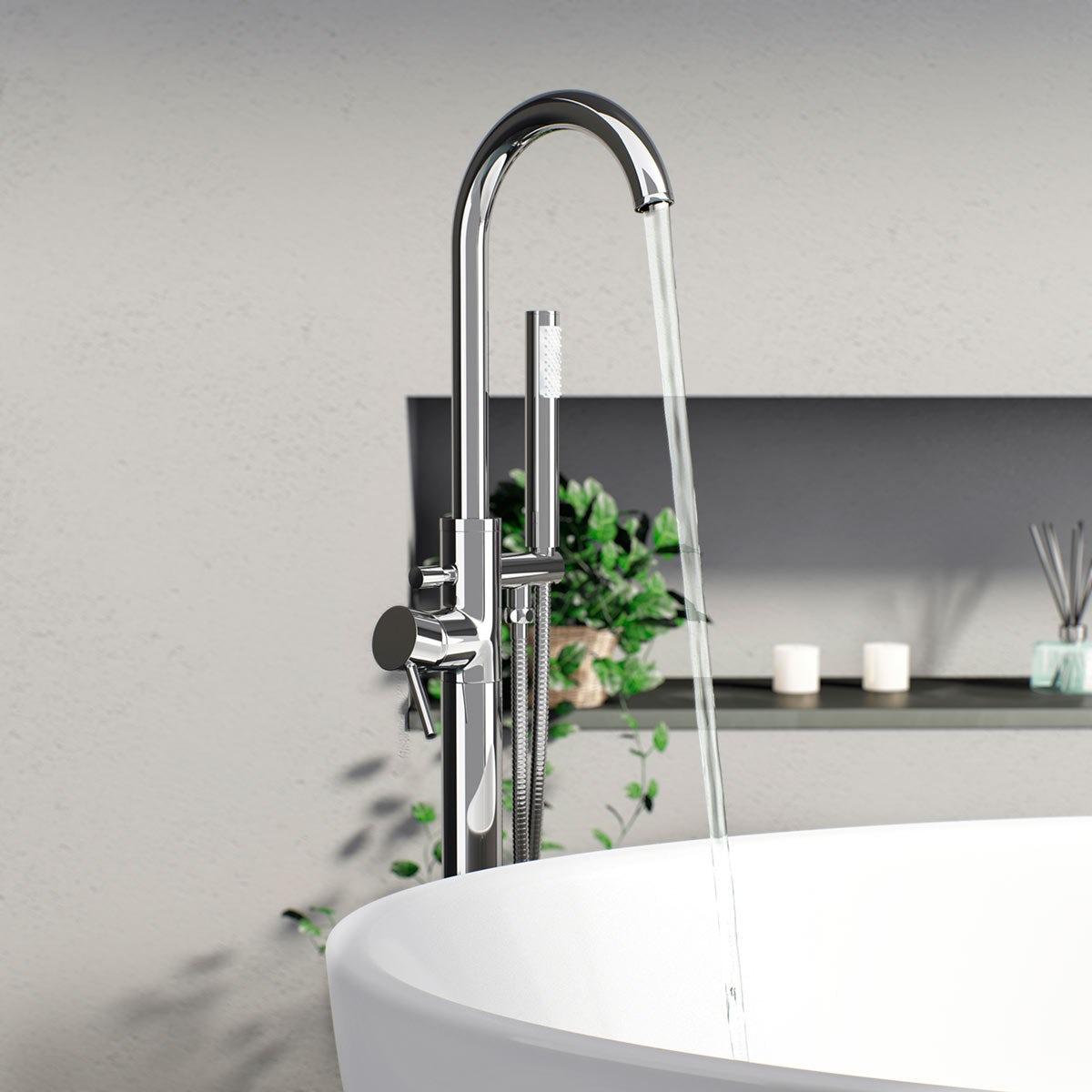 Matrix Freestanding Bath Filler