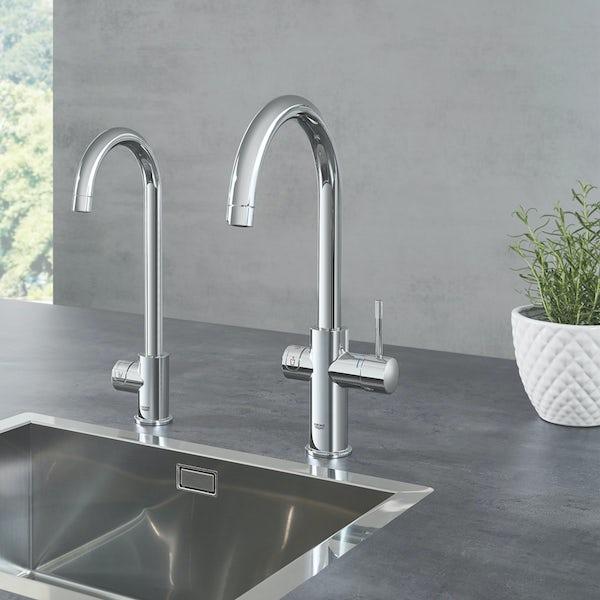 Grohe Blue Home C spout mono kitchen tap