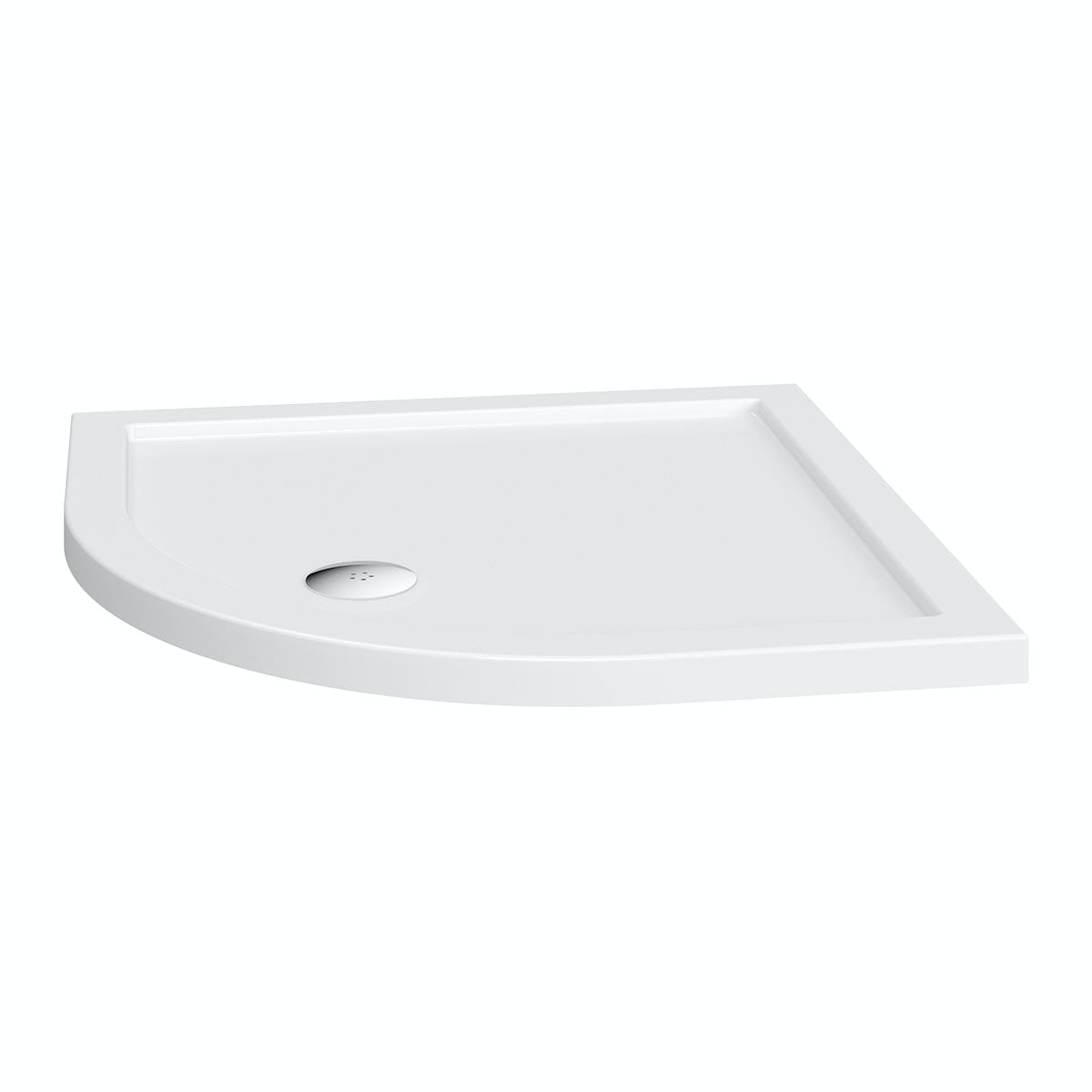 Orchard Quadrant stone shower tray 800 x 800