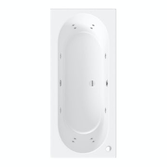 Mode Islington double end 12 jet whirlpool bath 1800 x 800 offer pack