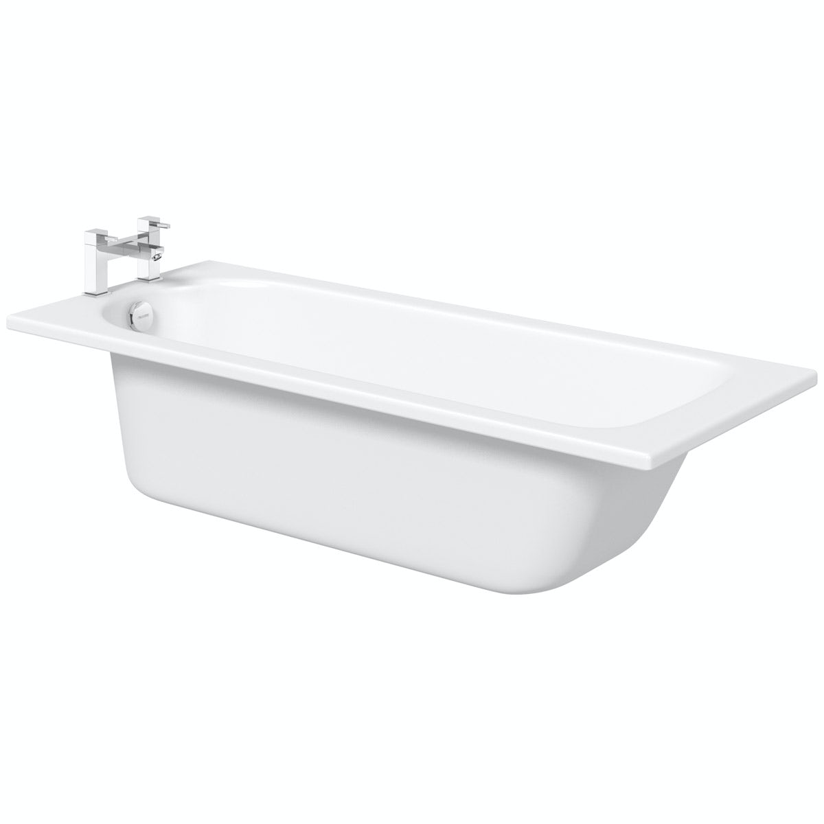 Kaldewei Saniform Plus straight steel bath with leg set