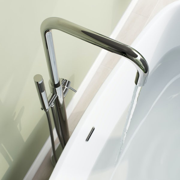 Mode Anderson freestanding bath filler tap