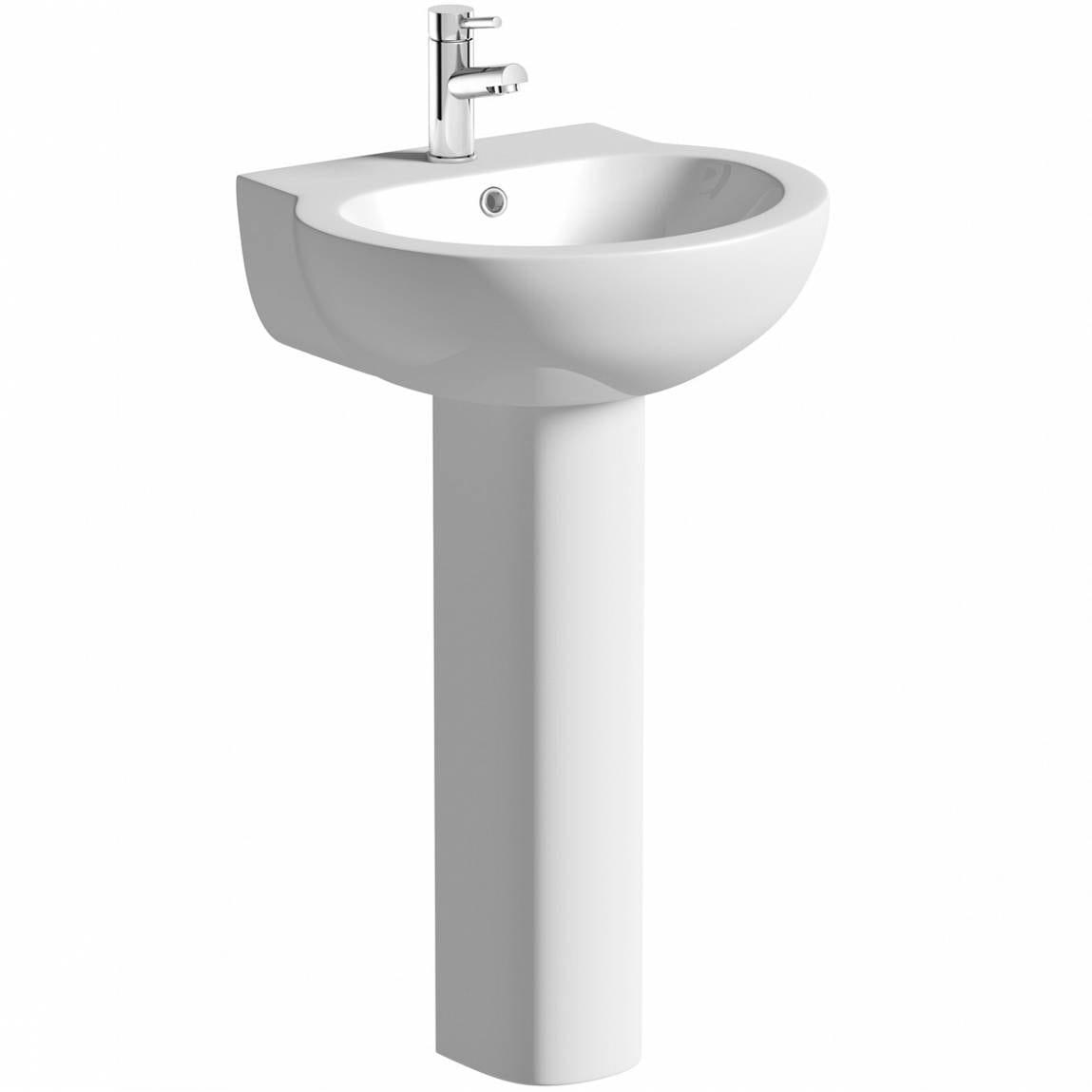 Maine Basin & Pedestal