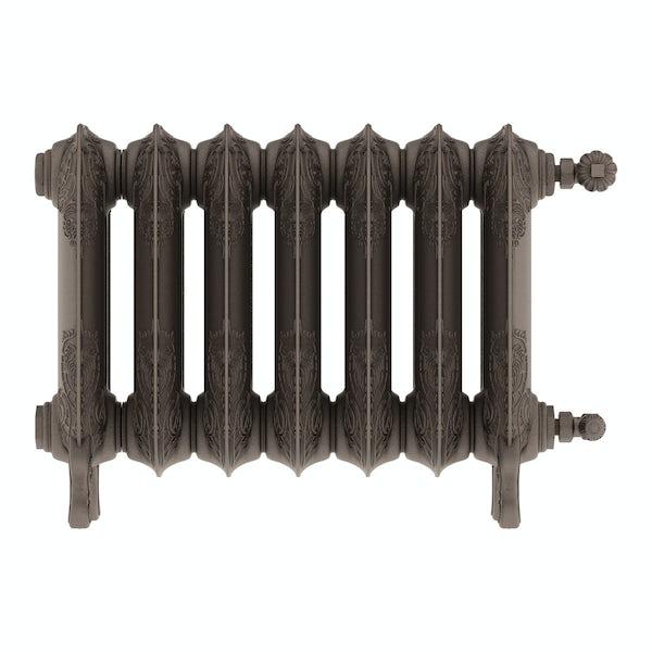 Oxford russet freestanding cast iron radiator 470 x 606