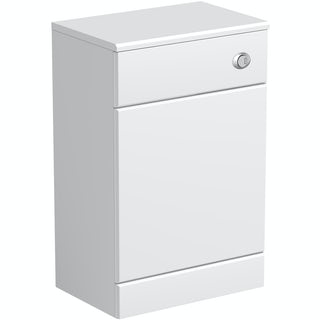 Eden white back to wall toilet unit