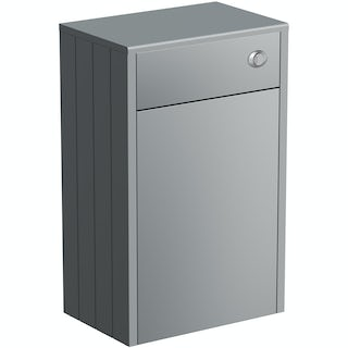 Dulwich grey back to wall toilet unit