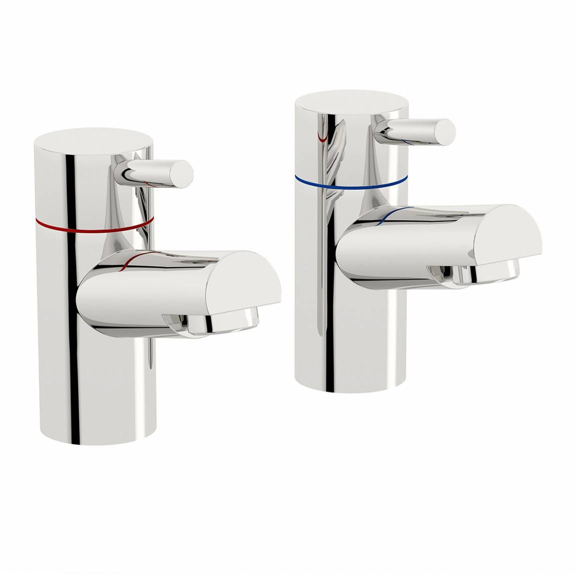 Orchard Wharfe basin pillar taps offer pack