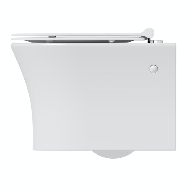 Mode Hardy wall hung toilet inc slimline soft close seat