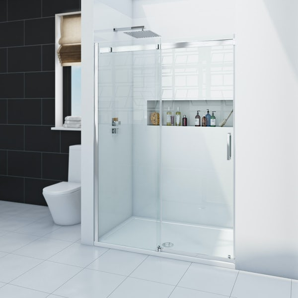 Zenolite plus ice acrylic shower wall panel 2440 x 1000