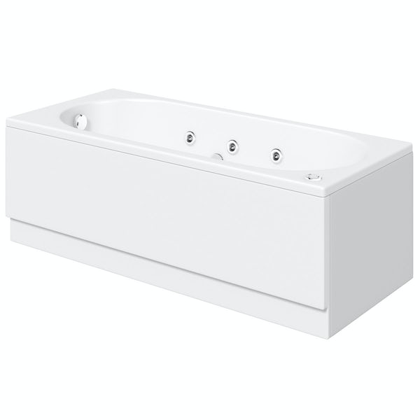 Richmond 1600 x 700 Single Ended 6 Jet Whirlpool Bath