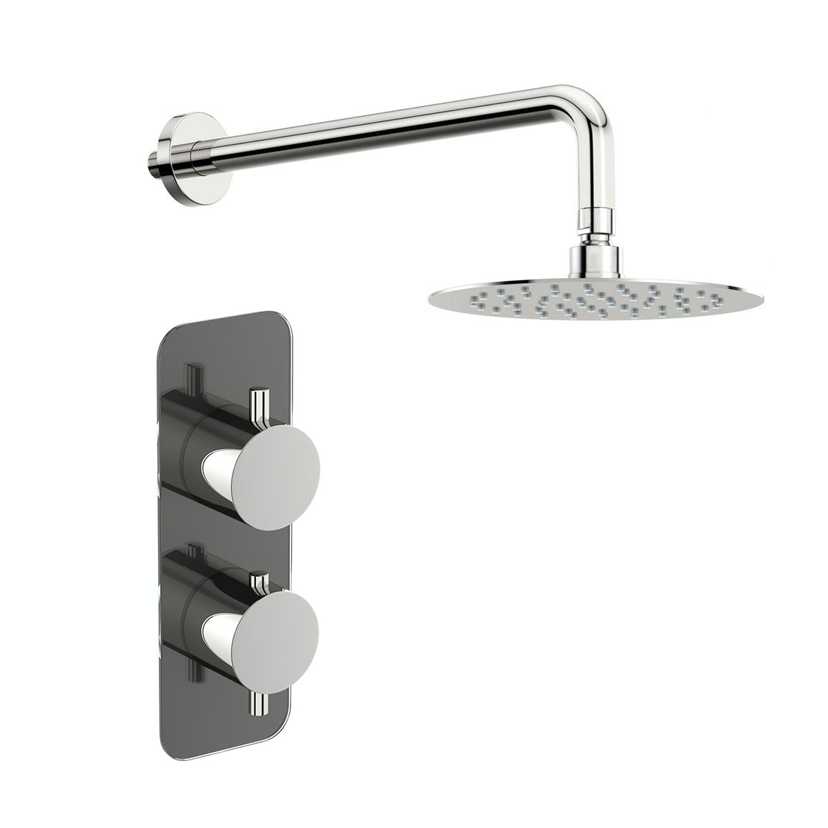 Mode Heath thermostatic shower valve with wall shower set