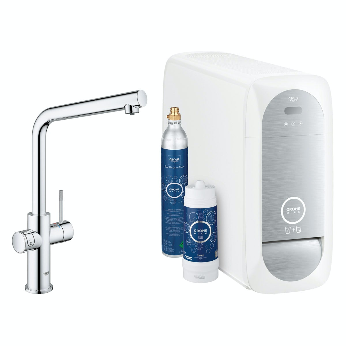 Grohe Blue Home L spout kitchen tap