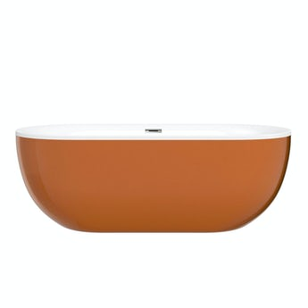 Mode Ellis cinnamon coloured freestanding bath