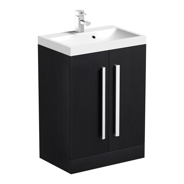 Orchard Wye essen vanity unit and mirror offer 600mm
