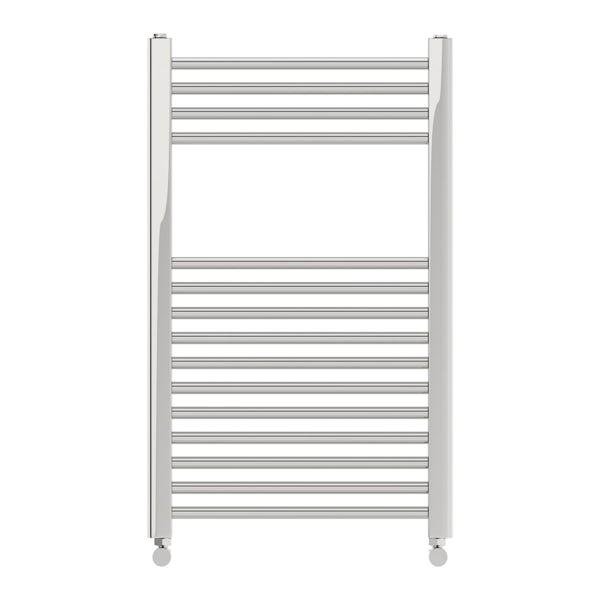 Eden round heated towel rail 800 x 490 offer pack