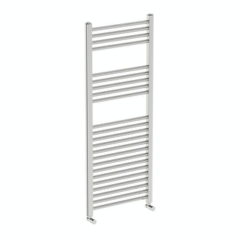 Orchard Eden round heated towel rail 1200 x 490